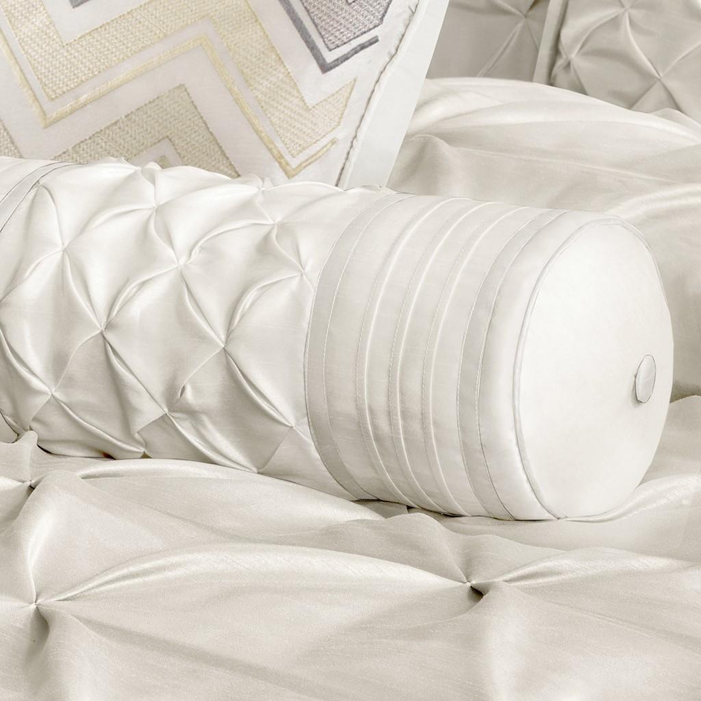 Ágytakaró garnitúra  LARISSA 7 darabos ágytakaró garnitúra - fehér ... 6e448ff5ec